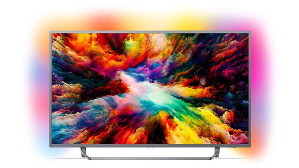 Philips 55PUS7303 (55 Zoll) LED (Ambilight, 4K Ultra HD, Triple Tuner, Smart Fernseher)