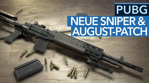 Playerunknown's Battlegrounds - Video: Neue Sniper & August-Patch