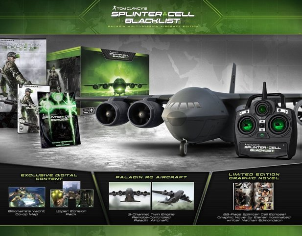 Splinter Cell: Blacklist - Paladin Multi-Mission Aircraft Edition
