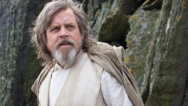 Mark Hamill als Luke Skywalker in den neuen Star-Wars-Filmen.