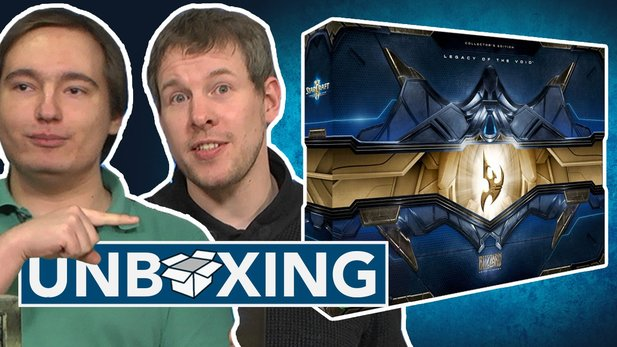 StarCraft: Legacy of the Void - Unboxing der Collector's Edition: Soll Maurice leiden? Ihr bestimmt!