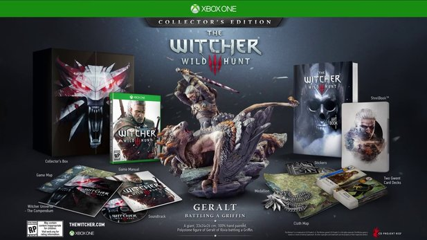 The Witcher 3: Wild Hunt - Offizielles Unboxing der Xbox-exklusiven Collector's Edition