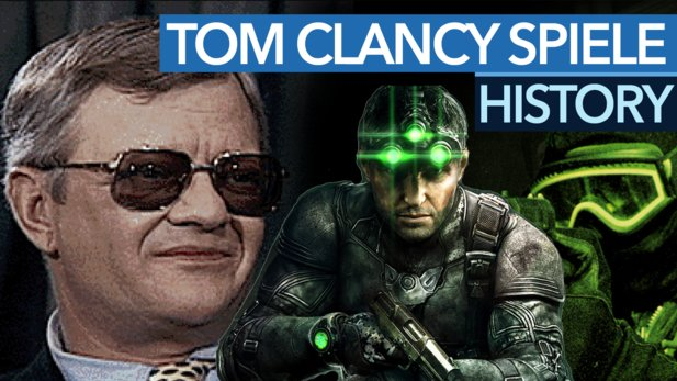 Splinter Cell, The Division, Rainbow Six - Wie Tom Clancy eine Action-Generation prägte