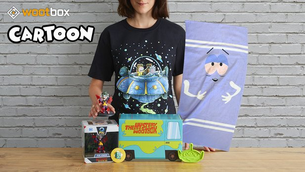 Unboxing der Wootbox »Cartoon« im Juni: Freue dich auf South Park, Rick and Morty und den Joker!