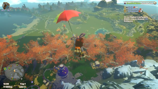Yonder: The Cloud Catcher Chronicles will Zelda mit Harvest Moon verbinden - kann das funktionieren?