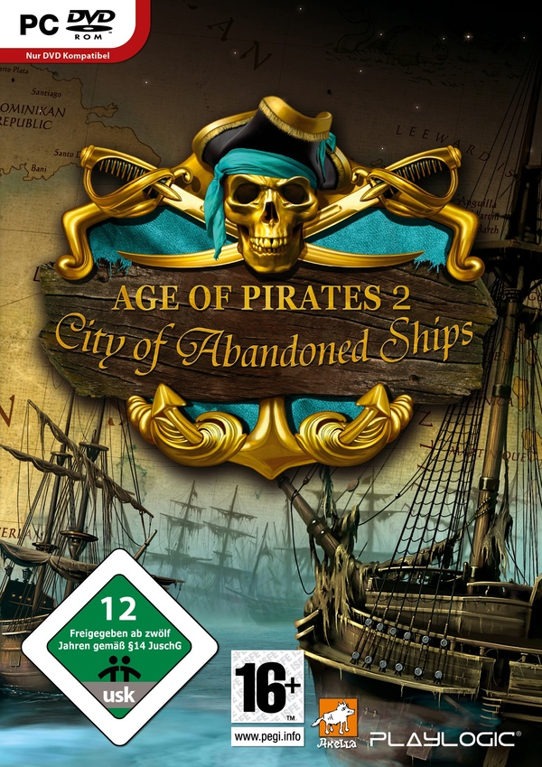 Cover zu Age of Pirates 2: City of Abandoned Ships