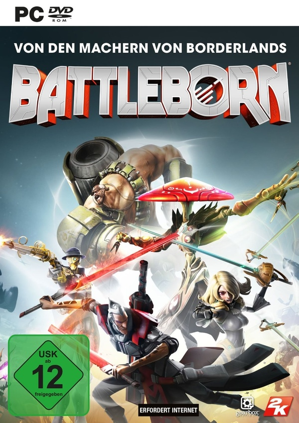 Cover zu Battleborn