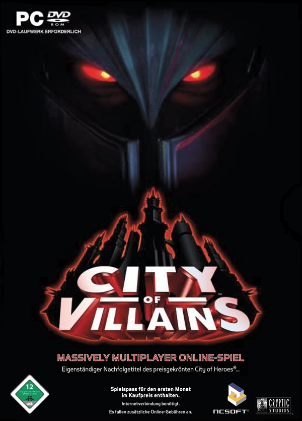 Cover zu City of Villains