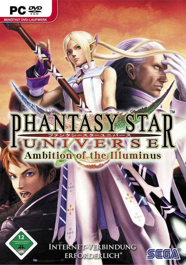 Cover zu Phantasy Star Universe: Ambition of Illuminus
