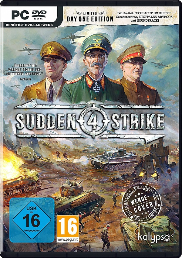 Cover zu Sudden Strike 4