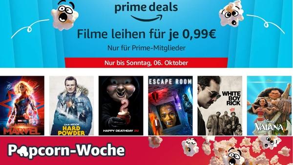 Mit Amazon Prime über 300 Filme für je 0,99€ leihen