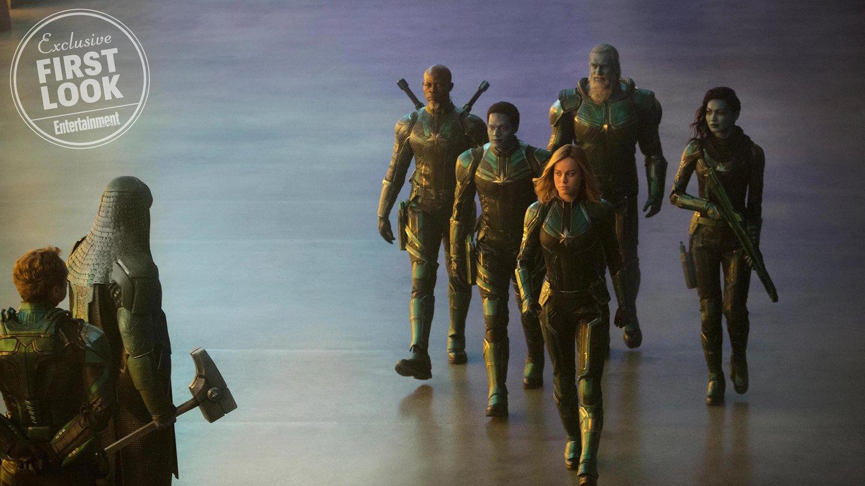 Captain Marvel Erste Bilder Zeigen Brie Larson Als Superheldin