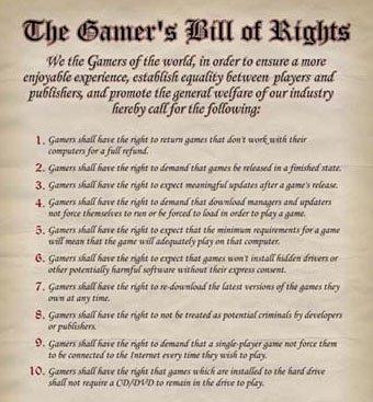 Gamer Regeln
