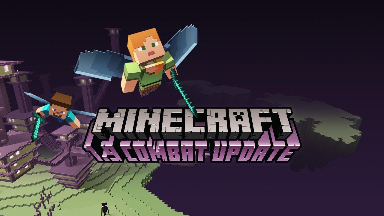 Minecraft CombatUpdate Für PC Verfügbar Das Sind Die - Minecraft spiele mit waffen