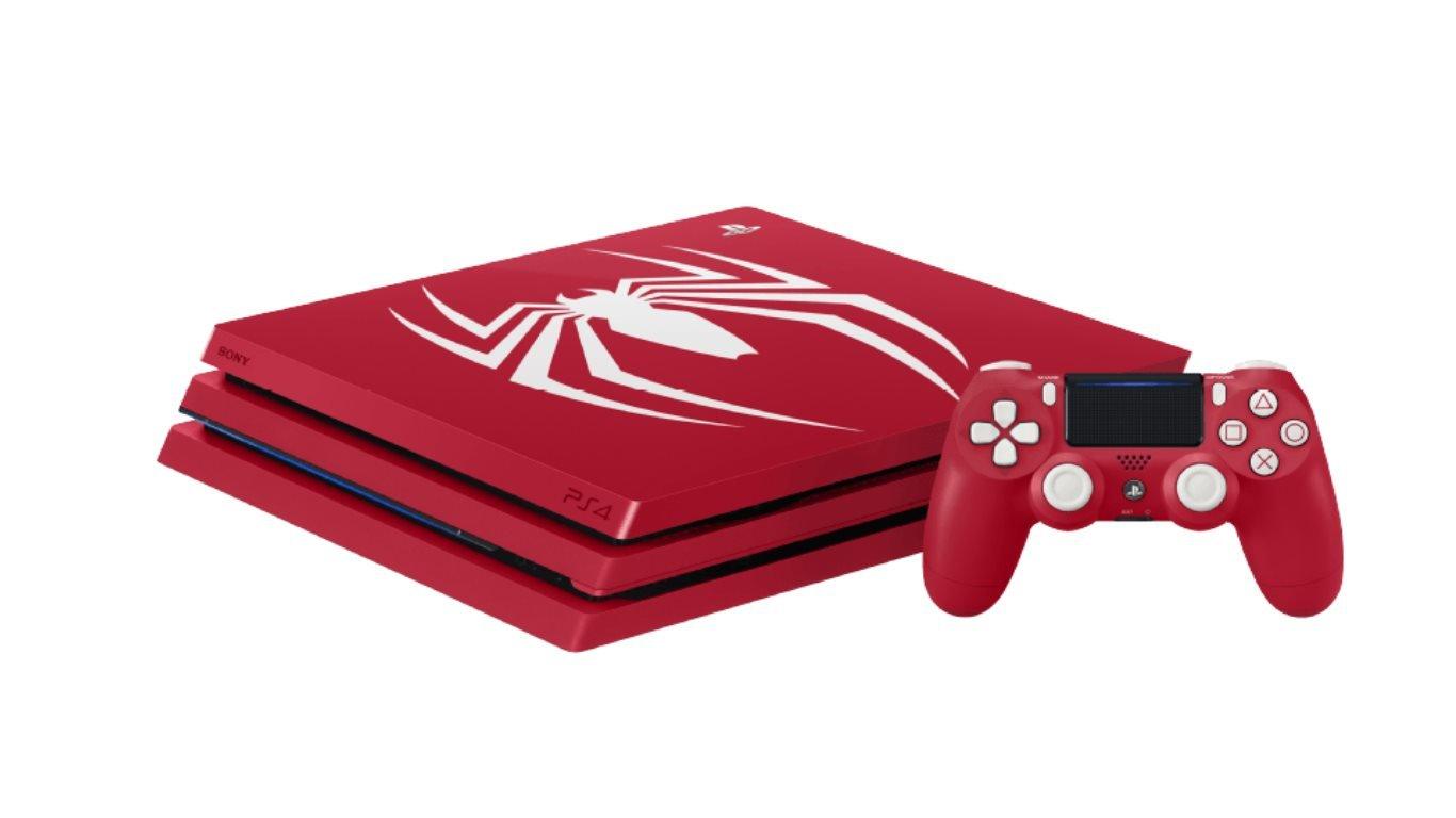 Playstation 4 Pro Spider Man Limited Edition Jetzt Bei