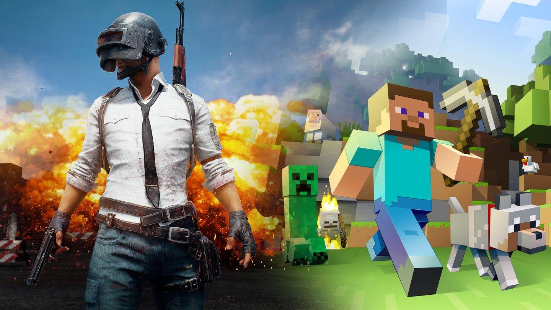 Minecraft PUBG überholt Das Meistverkaufte PCSpiel Der Welt - Minecraft zu zweit spielen an einem pc