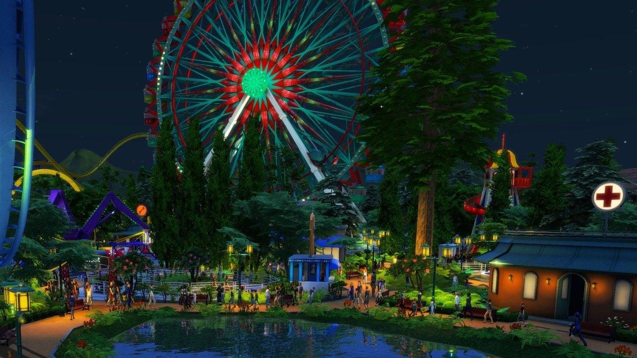 Rollercoaster Tycoon World - Update: kollidierende Waggons