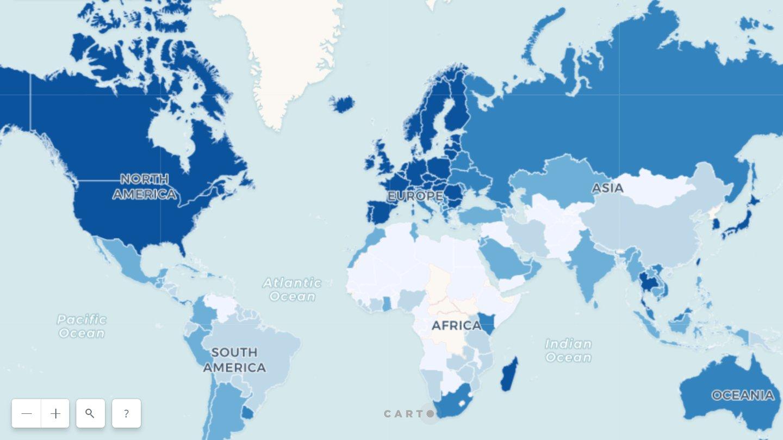 Breitbandausbau Karte Zeigt Deutschland Im Internationalen Vergleich