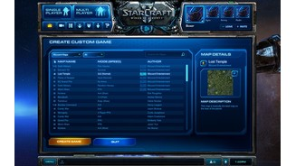 Battle.net 2.0 - Custom-Games erstellen