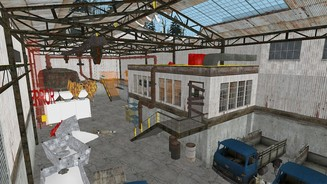 <b>Half-Life 2</b><br>Screenshots aus der eingestellten Junction-Point-Episode