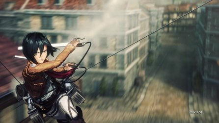 Attack on Titan: Wings of Freedom - Action-Trailer mit Gameplay-Szenen
