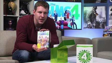 Die Sims 4 - Unboxing-Video zur Collector's Edition mit André