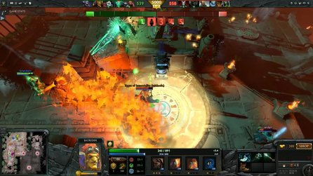 Dota 2 - Gameplay-Video stellt den »Haunted Colosseum«-Modus vor