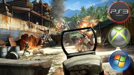 Far Cry 3 - Video: Grafikvergleich PC / Xbox 360 / PlayStation 3