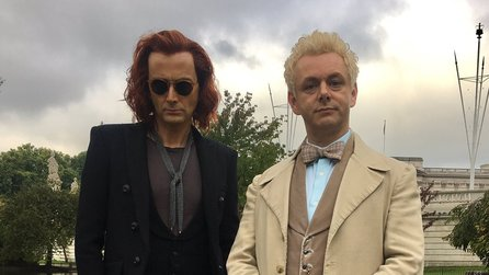 Terry Pratchetts Good Omens - Erster Trailer mit David Tennant und Michael Sheen als Crowley & Aziraphale
