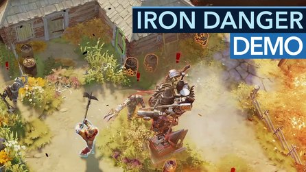 Iron Danger - Gameplay-Demo: Herr der Ringe meets Transformers