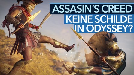 Keine Schilde in Odyssey - Alte Bloodborne-Debatte nun auch in Assassin's Creed