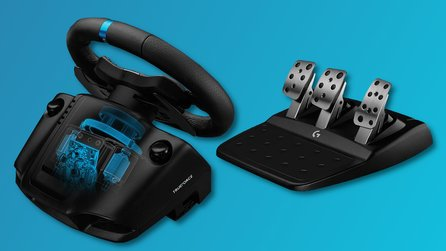 Logitech G923 im Test – Mit TrueForce-Feedback zur Pole-Position?