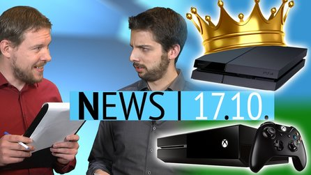 News - Freitag, 17. Oktober 2014 - PS4 dominiert Xbox One & Eigene Champions in League of Legends