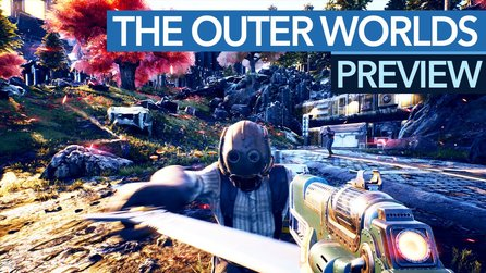 The Outer Worlds - Gameplay-Preview: Fallout im Science-Fiction-Gewand