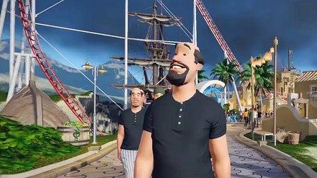 Planet Coaster - Entwickler-Video #3 zeigt viel Ingame-Grafik