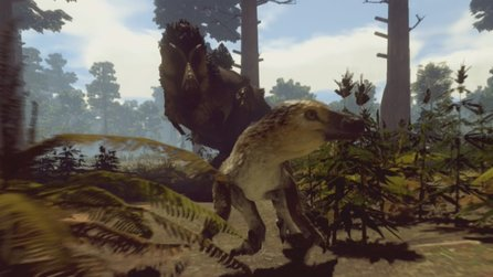 Saurian - Early-Access-Trailer zur realistischen Dino-Simulation auf Steam