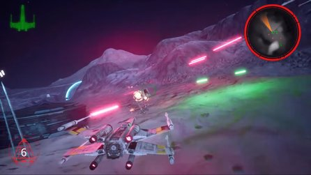 Der Star-Wars-Klassiker Rogue Squadron sieht in Unreal Engine 4 klasse aus