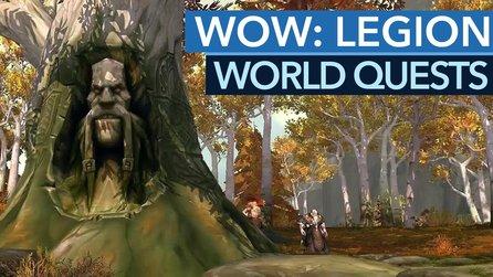 World Of Warcraft Legion World Quests Das Neue Endgame