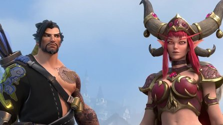 Heroes of the Storm - Hanzo und Alexstrasza im Cinematic-Trailer