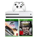 Xbox One S 500 GB + Call of Duty WWII + Forza Horizon 3