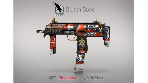 Counter-Strike: Global Offensive - Clutch Case Skins