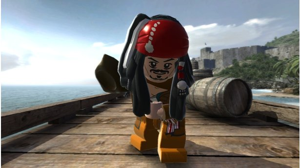 <b>Lego Pirates of the Caribbean</b><br>Gestatten: Captain Jack Sparrow! Die Lego-Serie verschlägt es mit Pirates of the Caribbean in warme Gefilde.