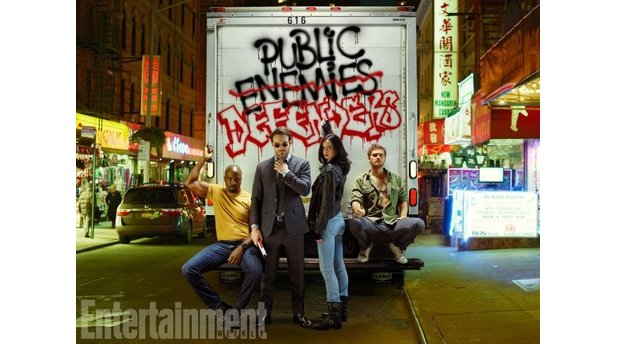 Marvels The Defenders - Das neue Superhelden-Team mit Daredevil, Jessica Jones, Luke Cage und Iron Fist.