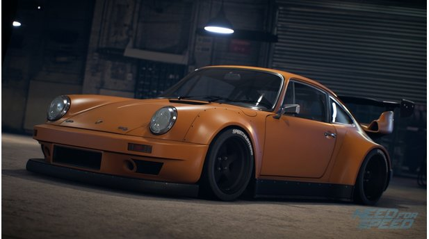 Need for Speed - Screenshots der Fahrzeuge - PORSCHE 911 CARRERA RSR 2.8