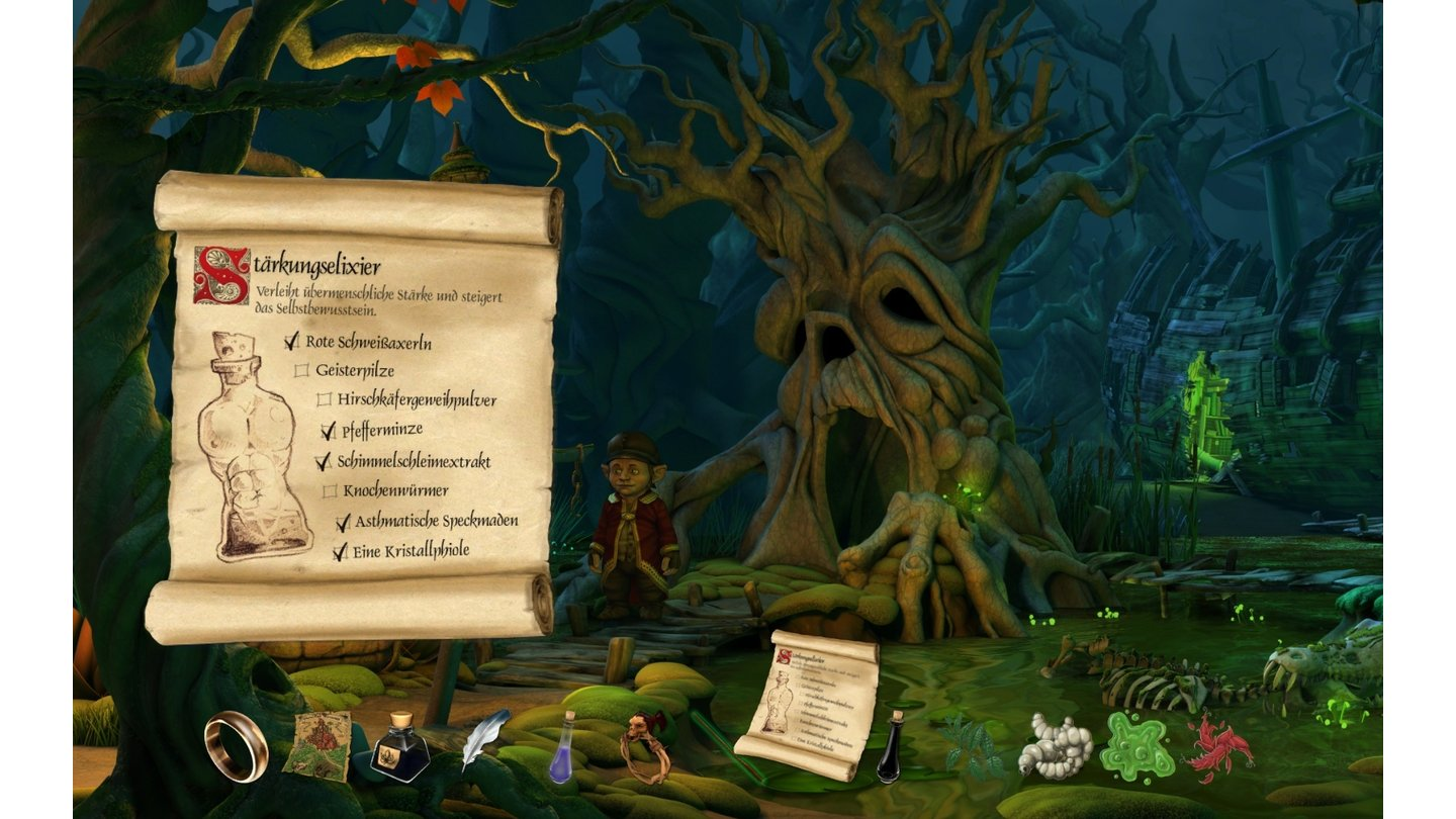 Book of Unwritten Tales - Bilder aus der Testversion
