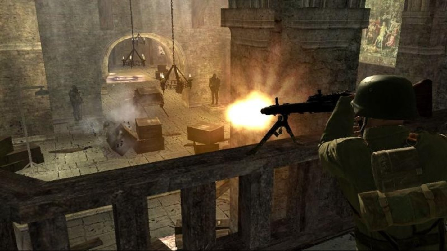 call of duty 3 wii 1