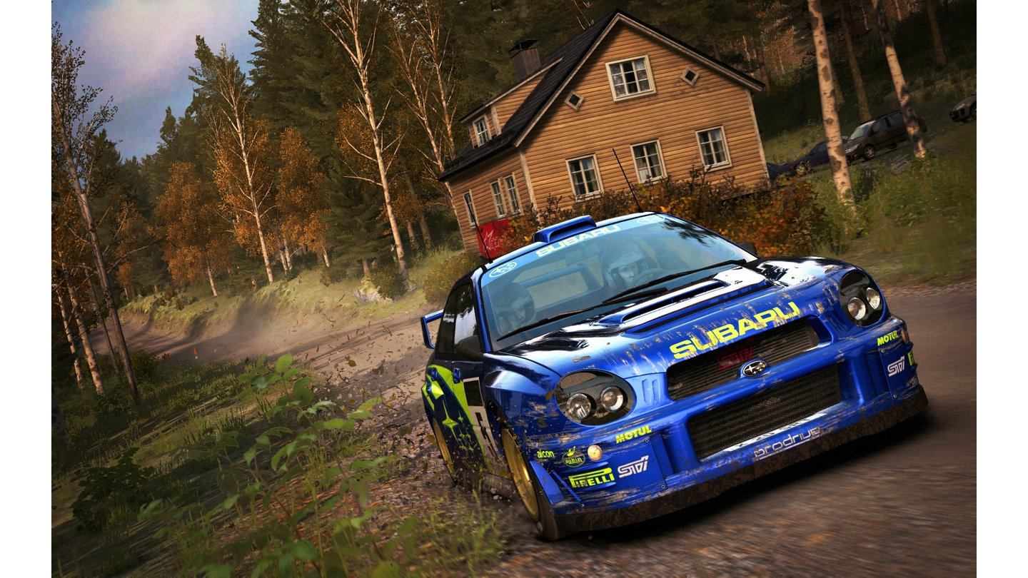 DiRT Rally - Screenshots vom Finnland-Update