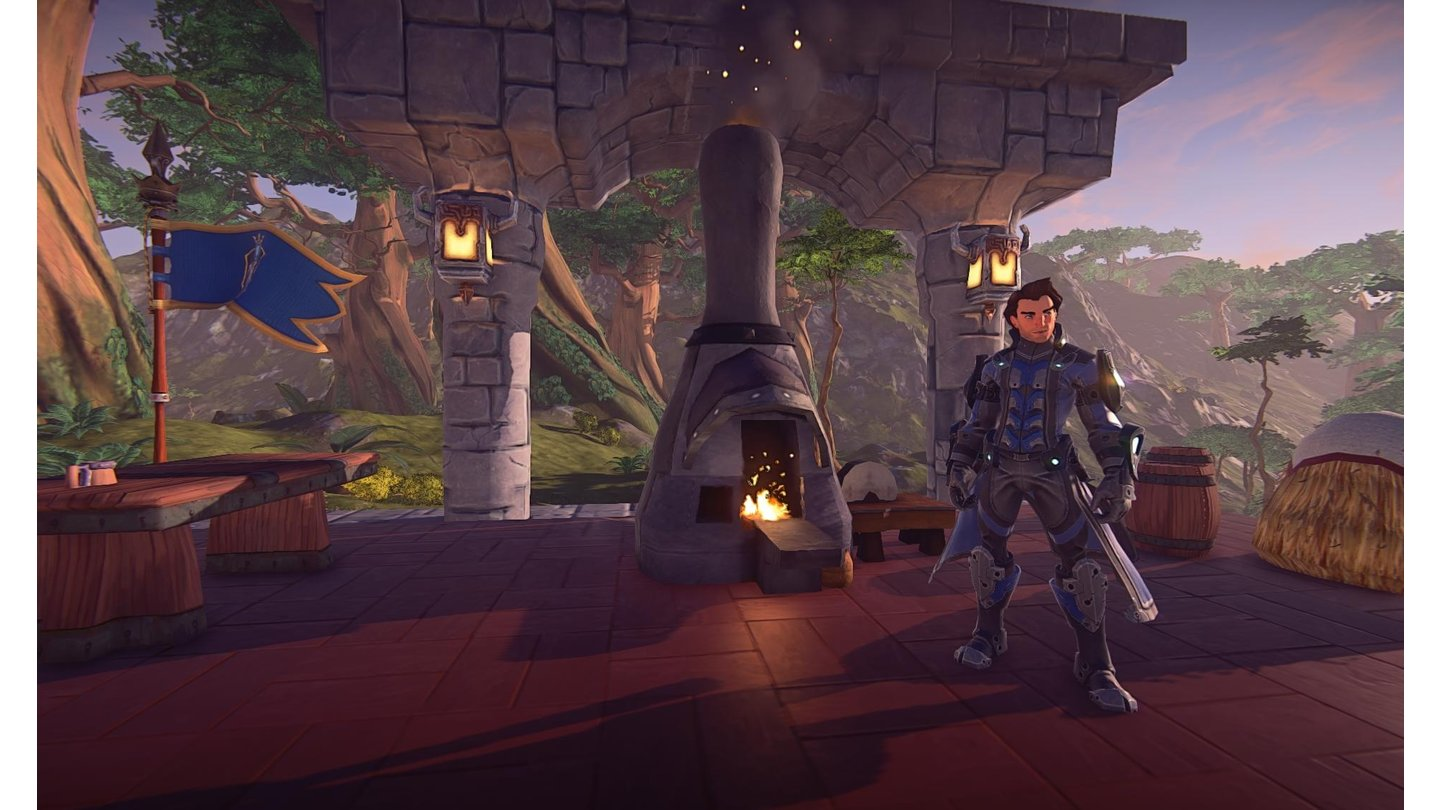EverQuest Next LandmarkScreenshot aus dem Alpha-Test.