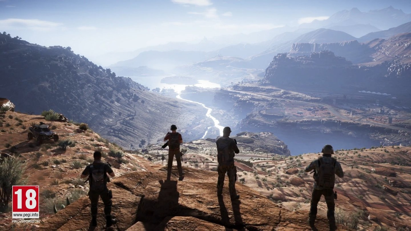 Ghost Recon Wildlands - Einsatzbesprechungs-Trailer