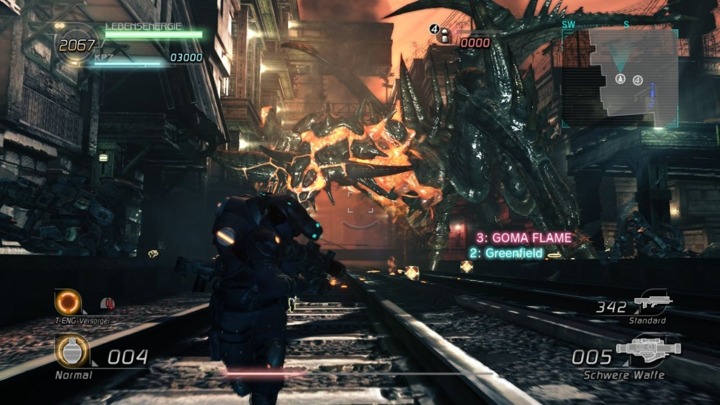 Lost Planet 2Screenshots aus der Test-Version von Lost Planet 2 für PC.